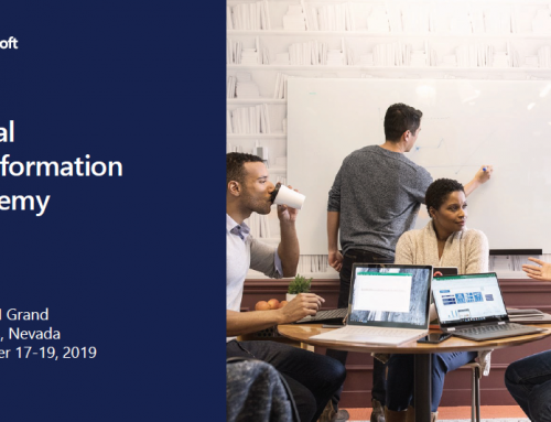 Microsoft US Digital Transformation Academy (DTA) 2019