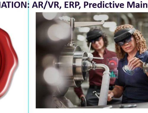 Free Webinar / DIGITAL TRANSFORMATION: AR/VR, ERP, Predictive Maintenance and more…