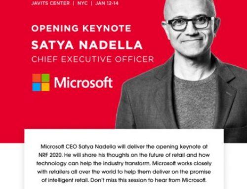 NRF2020 & Satya Nadella's Opening Keynote