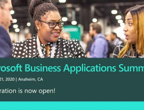 Microsoft Business Applications Summit, May 6–7, 2020 in Dallas, Texas