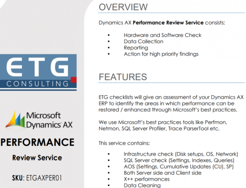 AX Performance Review Service has been published on Microsoft AppSource