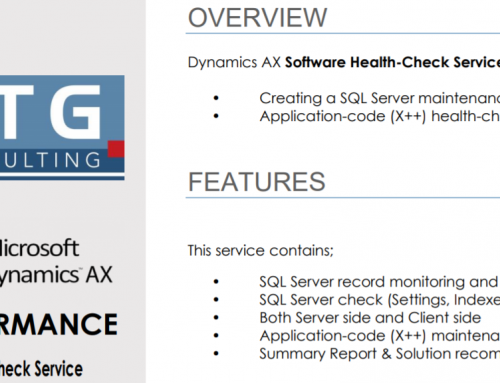 AX Software Health-Check Service has been published on Microsoft AppSource