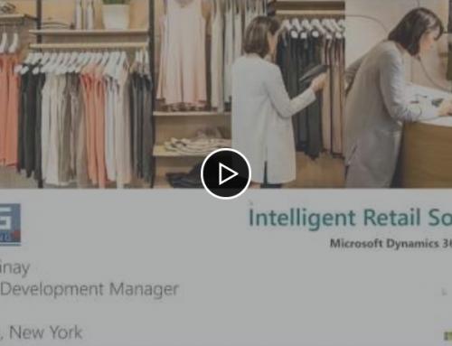 Webinar Record / Intelligent Retail Solutions (Microsoft Dynamics 365 Commerce)