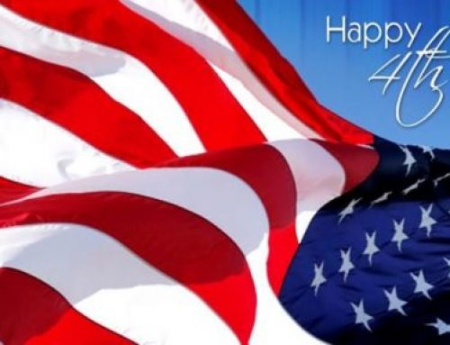 Happy and Safe 4th of July!