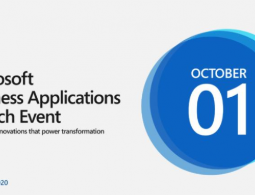 Microsoft Business Applications Launch Event (Thursday, October 1, 2020 | 9–11 AM Pacific Time)